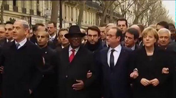 Paris marche republicaine