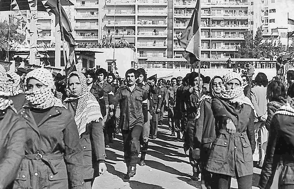 Fatah militants Beirut