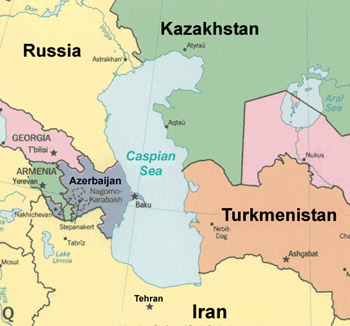 Iran Prepares For Conflict Over the Caspian Sea Issue | Middle ...