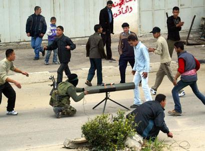 hamas using civilian area's