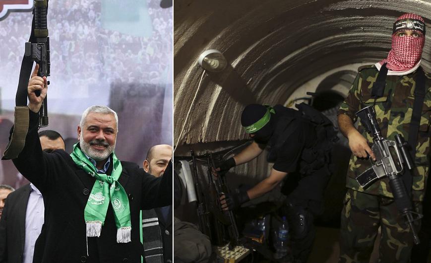 hamas terror attack tunnels