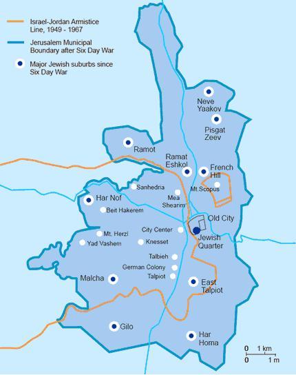 Israel Jerusalem Karte.Gilo Is A Neighborhood Of Jerusalem