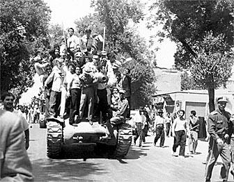 IRAN-COUP D'ETAT-MONARCHISTES